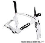 Cadre viper blanc (taille S) (+ étrier frein arrière) marque Ceepo - Matériel pour Cycle