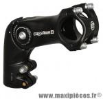 Potence VTT réglable octopus rehausse alu noir 25.4 l 90mm marque Ergotec - Pièce Vélo