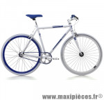 Vélo fixie 28 skinny alu blanc (taille 54) marque Jumpertrek - Vélo fixie complet