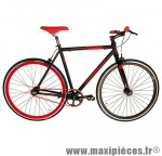 Vélo fixie 28 skinny alu noir mat (taille 54) marque Jumpertrek - Vélo fixie complet