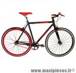 Vélo fixie 28 skinny alu noir mat (taille 59) marque Jumpertrek - Vélo fixie complet