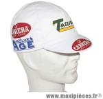 Casquette vélo équipe vintage carrera - Accessoire Vélo Pas Cher