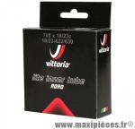 Chambre à air de vélo et de dimensions 700x19-23 lite valve presta longueur 48mm marque Vittoria - Pièce Vélo