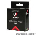 Chambre à air de vélo et de dimensions 700x19-23 lite valve presta longueur 60mm marque Vittoria - Pièce Vélo
