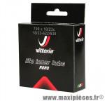 Chambre à air de vélo et de dimensions 700x19-23 lite valve presta longueur 80mm marque Vittoria - Pièce Vélo