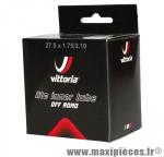Chambre à air de vélo et de dimensions 27.5x1.75-2.10/650b valve presta marque Vittoria - Pièce Vélo