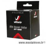 Chambre à air de vélo et de dimensions 27.5x2.10-2.25/650b valve standard marque Vittoria - Pièce Vélo