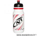 Bidon newone blanc deco rouge/noir 600ml (visser) (vendu al unité) marque Newton - Pièce Vélo