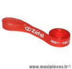 Prix spécial ! Fond de jante VTT Zéfal 18mm x 26 pouces - Rouge - haute pression