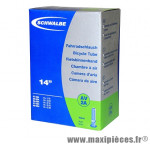 Chambre à air de vélo et de dimensions 14x1.75 valve standard (47-254 à 60-254) marque Schwalbe - Pièce Vélo