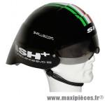 Casque vélo aero turbolence evo2 noir (taille 55-60) marque SH+ - Equipement Vélo