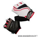Gant de vélo été carpal pro blanc M protect canal carpien (paire) marque Chiba - Equipement Vélo