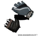 Gant de vélo été carpal pro gris fonce M protect canal carpien (paire) marque Chiba - Equipement Vélo