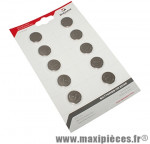 Pile bouton cr2032 3v (vendu par 10) marque Sigma - Accessoire Vélo
