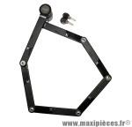 Antivol vélo pliable lock fs300 l 90cm noir type couteau marque Axa-Basta - Accessoire Vélo