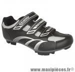 Chaussure VTT e-sm346 noir 3 velcros t42 (paire) marque Exustar - Equipement Vélo pour cycliste
