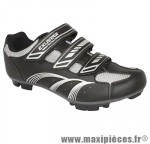 Chaussure VTT e-sm346 noir 3 velcros t43 (paire) marque Exustar - Equipement Vélo pour cycliste