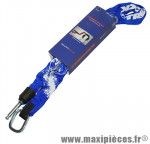 Antivol vélo chaine a boucle pour fer a cheval zr355 bleu 1m diam 6mm marque Trelock - Accessoire Vélo