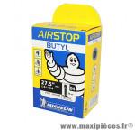 Prix spécial ! Chambre à air Michelin AirStop 27,5x1,9 à 2,6 valve Presta B4 40mm 220g