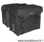 Sacoche arrière city kavan noir (lg - 65 litres) (40x33x23 cm) marque Basil - Matériel pour Cycle