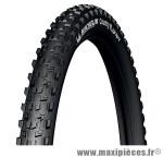 Pneu de VTT 27.5x2.10 country grip'r noir tr (54-584) (650b) marque Michelin - Pièce Vélo