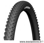Pneu de VTT 27.5x2.10 country race'r noir tr (54-584) (650b) marque Michelin - Pièce Vélo