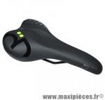 Selle city confort density line noir femme 267x146mm marque DDK - Accessoire Vélo