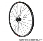 Roue VTT 27.5 pouces traxx 21 disc avant noir œillet moy shimano m475 disc noir ray noir (tubeless ready) marque Vélox - Pièce Vélo