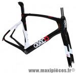 Cadre mamba noir/blanc (taille S) marque Ceepo - Matériel pour Cycle