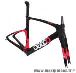 Cadre katana 2016 noir/rouge (taille L) marque Ceepo - Matériel pour Cycle