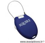 Antivol vélo cable a combinaison retrac2 bleu l600mm marque Squire - Accessoire Vélo