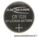 Pile bouton cr1025 3v pour brakelight marque Sigma - Accessoire Vélo