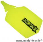 Garde boue VTT fat-bike arrière jaune fluo marque Roto - Accessoire Vélo