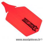 Garde boue VTT fat-bike arrière orange fluo marque Roto - Accessoire Vélo