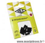 Prix spécial ! Embout gaine de frein autoblocant Kble Transfil 5mm de couleur noir (x10)