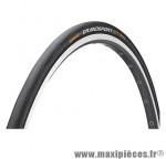 Pneu pour vélo de route 700x25 grand sport extra noir renfort vectran marque Continental - Pièce Vélo