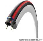 Pneu pour vélo de route 700x25 rubino pro noir/rouge graphene 150tpi 245g ts (25-622) marque Vittoria - Pièce Vélo
