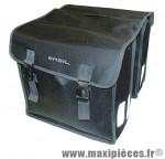 Sacoche arrière city mara noir (lg - 35 litres) (34x13x34 cm) (paire) marque Basil - Matériel pour Cycle