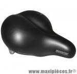 Selle loisir manhattan noir avec gros ressort marque Selle Royal - Pièce Vélo