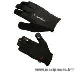 Gant de vélo VTT vento noir M (paire) - Accessoire Vélo Pas Cher