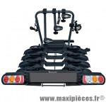 Porte vélo plateforme pure instinct pour 4 vélos premium inclinable pliable (maxi 45kgs) marque Peruzzo - Accessoire Vélo