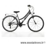 Vélo VTC 28 discovery alu femme 21v gris mat (taille 44) (shimano rs-45+altus) marque Jumpertrek - Vélo - VTC complet