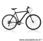 Vélo VTC 28 fitness sport alu homme 21v noir mat (taille 48) (shimano ty-21+rs-35) marque Jumpertrek - VTC complet