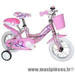 Vélo pour enfant 12 puppies acier fille rose marque Jumpertrek - Vélo - Vélo pour enfant complet