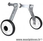 Stabilisateur vélo renforce roue plastique pour vélo handicape 16-24 pouces (paire) marque Newton - Pièce Vélo