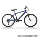 Vélo VTT 24 snake acier garçon 18v avec fourche télescopique bleu/noir (taille 37) (shimano tx-30+ty-21) marque Jumpertrek - VTT complet