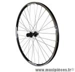Roue VTT 27.5 pouces arrière noir combo double paroi v-brake moy shimano marque Vélox - Pièce Vélo