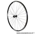 Roue VTT 29 pouces avant noir double paroi vbrake moy shimano rm66 (compatible disc centerlock) marque Vélox - Pièce Vélo
