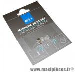 Bouchon de valve magnétique pour compteur toute marque (vendu par 2) marque Schwalbe - Pièce Vélo