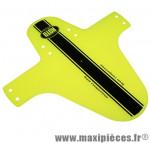Garde boue VTT avant jaune fluo fixation fourche marque Roto - Accessoire Vélo